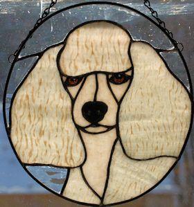 toy poodle suncatcher pattern
