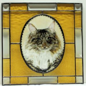 Cat cabinet door